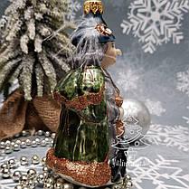 Irena набор Белоснежка и колдунья  Стеклянные игрушки на елку ручной работы, фото 2