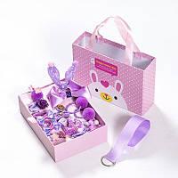 Набор детских заколок Gift for Soul Фиолетовый 18 штук РР 18 С П