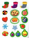 Наліпки для найменших. Веселе Різдво. Автор Сікора Ю.О., фото 3