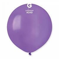 """27"""" (69 см) пастель сиреневый G-49 Gemar Италия латексный шар"""