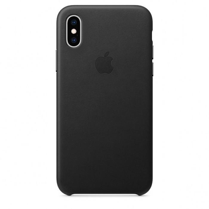 Чехол Apple Leather Case - для iPhone XS Max