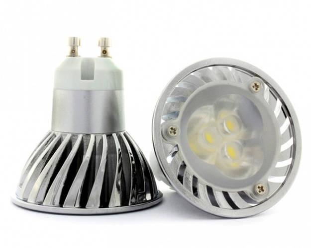 Светодиодные лампы MR16 c цоколем GU5.3 и GU10 220V/12V