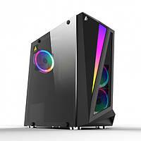 Корпус 1stPlayer R5-R1 Color LED Black без БП