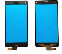 Сенсорний екран для смартфону Sony Xperia Z3 Compact Mini D5803, тачскрін чорний