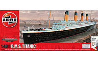 Сборная модель R.M.S. Titanic в масштабе 1:400. Подарочный набор с красками, кисточками и клеем. AIRFIX 50146
