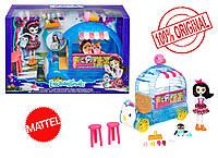 Игровой набор Enchantimals Фургончик мороженого Прины Пингвины