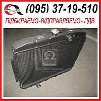Радиатор ГАЗ-3307 водяного охлаждения (3 рядный) (пр-во Бишкек) 3307-1301010