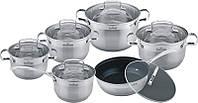Набор индукционной посуды 12 пр. MAXMARK MK-3012