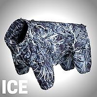 Одежда для собак крупных и средних пород ICE. Теплый. Водонепроницаемый. Зимний.