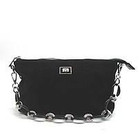 Женская сумочка Velina Fabbiano черная 001 (4700)