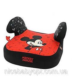 Дитяче автокрісло-бустер 15-36 кг Nania Dream Disney Mickey Luxe