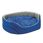 Лежак для собак Природа Омега серо-синий 43х34х13 см (PR241042), фото 2
