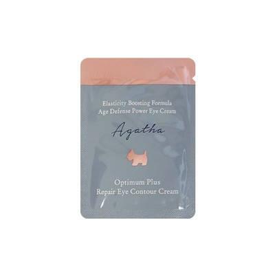 Увлажняющий питательный крем для век Agatha Optimum Plus Eye Contour Cream 1 мл, фото 2