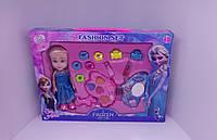 Косметика Детская Frozen с куклой Эльза, набор заколок в коробке
