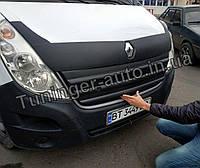 Зимняя накладка на решетку Renault Master 2010-2014г.в. (FLY), фото 1