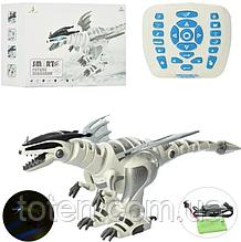 Динозавр 30368 на радіокеруванні, акумулятор, 65 см, звук, світиться, ходить, USB зарядний