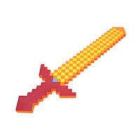 Пиксельный Большой огненный меч Minecraft Feuer Swords