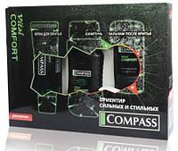 Compass набор мужской (шампунь+крем для бритья+бальзам после бритья) Vital Comfort Vital Comfort