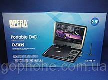 """Портативный DVD + телевизор Opera TV OP-998 9.5"""" T2/USB/HD, фото 3"""
