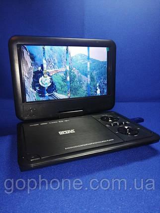 """Портативный DVD + телевизор Opera TV OP-998 9.5"""" T2/USB/HD, фото 2"""