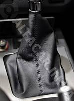 Чехол ручки КПП Mitsubishi Lancer X кожух рукоятки переключения передач Митсубиси Лансер Х