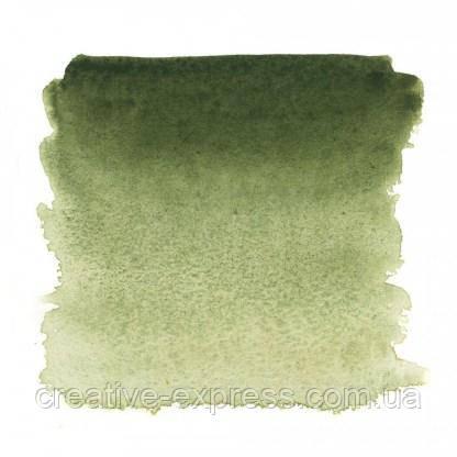 Фарба акварельна, Земля зелена, 2,5мл, Білі Ночі