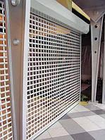 Роллетные ворота из решетчатого экструдированного профиля DoorHan RHE78G