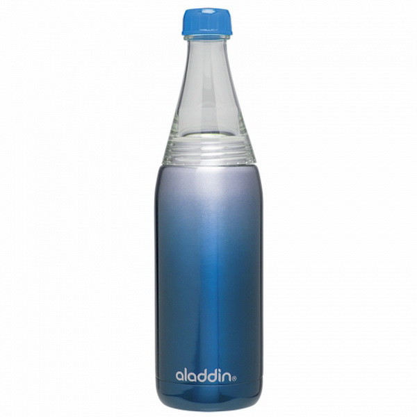 Термобутылка для напитков Aladdin Fresco Twist&Go (0.6л), синяя