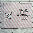 Тревел-кейс Travel is always a good idea (полоска), фото 3