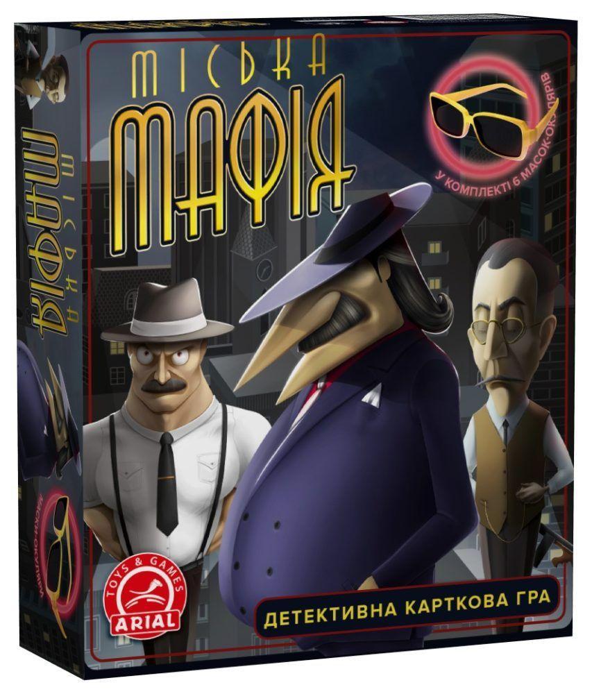 Настольная игра  Городская Мафия