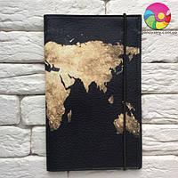Тревел-кейс Карта (черный)