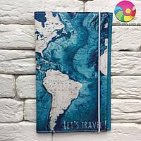 Тревел-кейс Карта (синий)