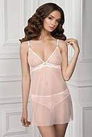 Очаровательная ночная сорочка Jasmine (Жасмин) 8132/88 Нежно-Розовый