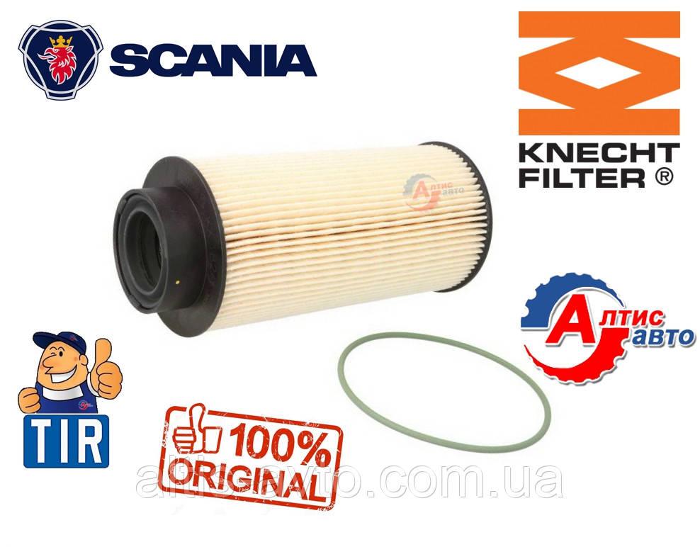 Топливный фильтр Scania вставка 4 P,G,R,T DT16.08 01.00- Knecht 1446432 запчасти
