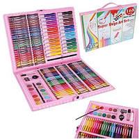 Набір для малювання 168 елементів, набір для творчості,живопису, набір для художників