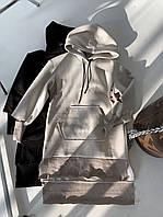 Женское платье - худи (2 цвета)