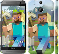 "Чехол на HTC One M8 dual sim Minecraft 4 ""2944c-55"""