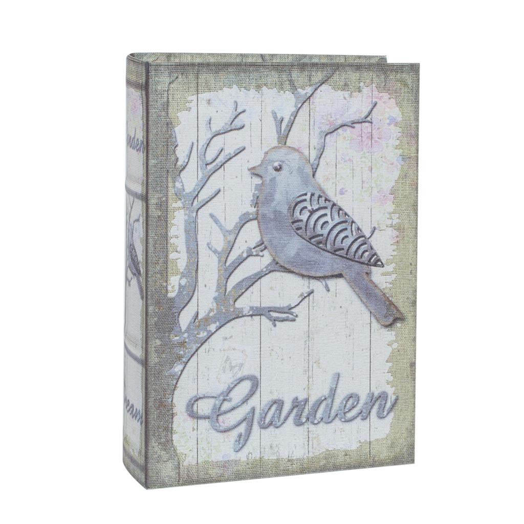 Шкатулка книга фолиант холст «Garden L» 107727-1