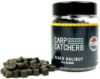 Пеллетс насадочный Carp Catchers Black Halibut Hook Pre-Drilled 8mm 150g