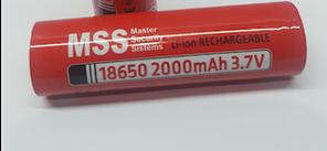 Акумулятор MSS+ 18650 Li-ion 3,7 V 2000mAh