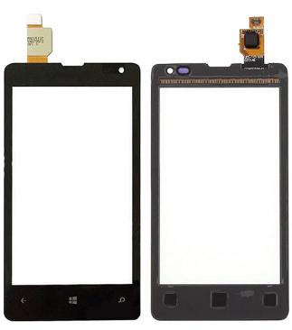 Microsoft (Nokia) Lumia 435 / 532 сенсорний екран, тачскрін чорний