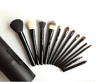 Кисти Набор кистей MAC в тубусе 12 штук + Тубус в подарок кисти для макияжа