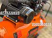 Воздушный компрессор Rupez CS 100л 640л/мин компресор ременной 3.5кВт, фото 6