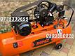 Воздушный компрессор Rupez CS 100л 640л/мин компресор ременной 3.5кВт, фото 7