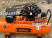 Воздушный компрессор Rupez CS 100л 640л/мин компресор ременной 3.5кВт, фото 8