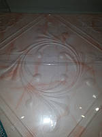 Плита потолочная экструдированная  Ромстар Марс светлый  розовый