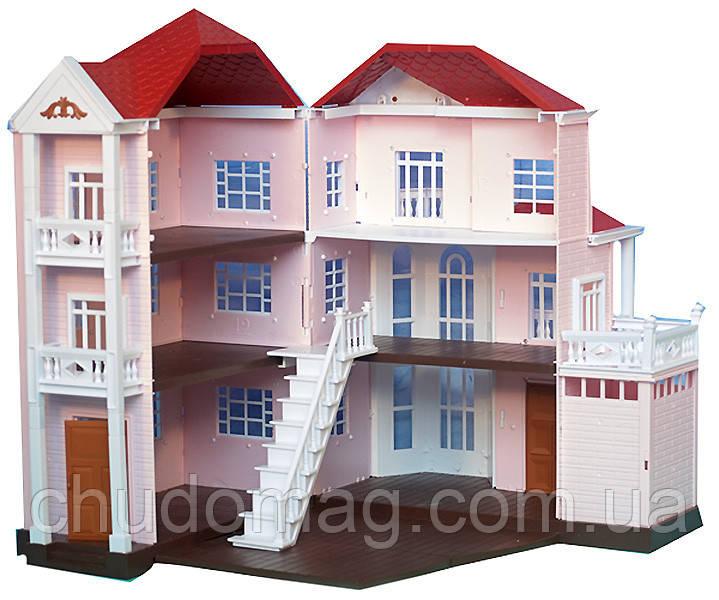 Домики для собак трехэтажный
