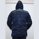 Куртка мужская зимняя на синтепоне и флисе р 56, фото 3