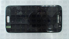 Дисплей c сенсором Samsung SM-G930 Galaxy S7 Black, GH97-18523A, оригинал!, фото 2