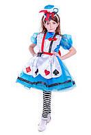 """""""Алиса в стране чудес"""" карнавальный костюм для девочки"""